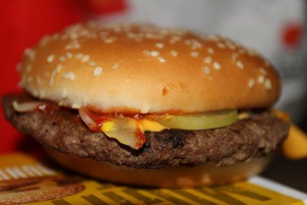 Quarter Pounder With Cheese - McDonald's