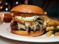 Fish and Farm Niman Ranch Cheeseburger