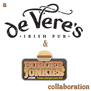 #sacburgermonth is brought to you by de Vere's Irish Pub and BurgerJunkies.com