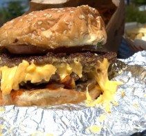 Bacon Cheeseburger (all the way) - Five Guys Burgers &amp; Fries - Elk Grove, CA