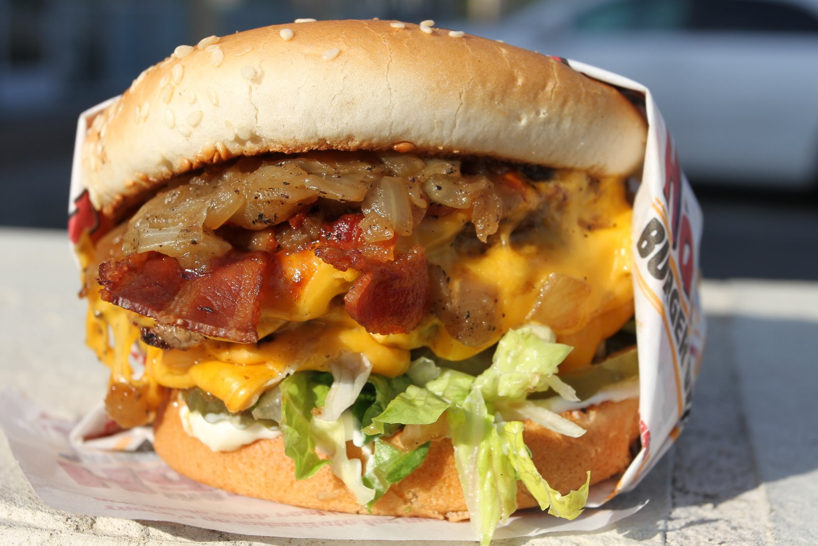 Double BBQ Bacon Charburger - The Habit Burger Grill - Elk Grove, CA