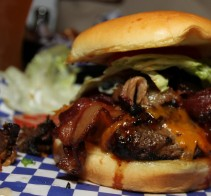 Ultimate BBQ Burger - Famous Dave's - Long Beach, CA