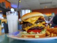 Colossal Bacon Double Cheeseburger - Burger City - Vacaville, CA