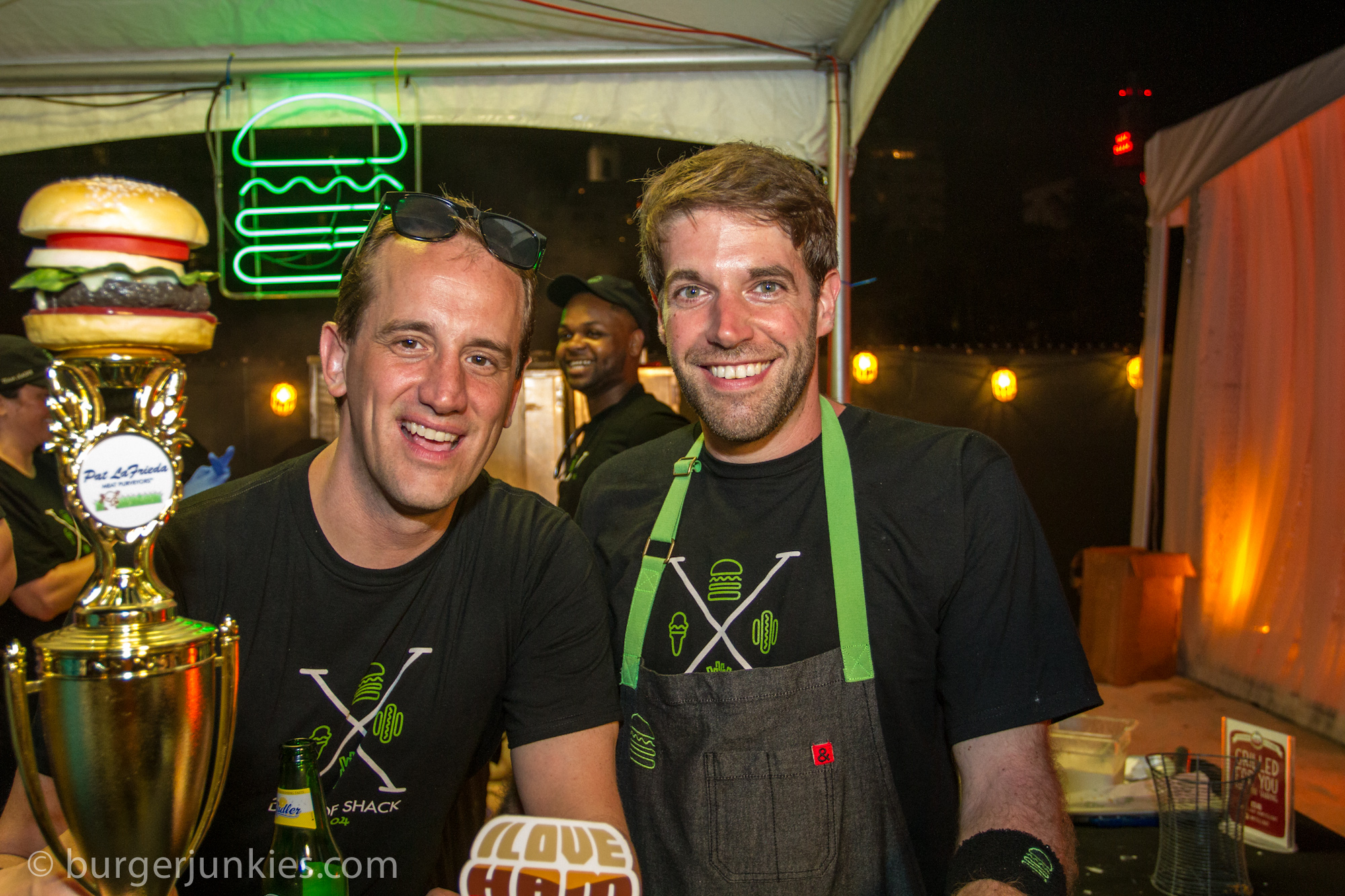 Shake Shack wins Judges Choice at the 2014 Amstel Light #SOBEWFF BURGER BASH