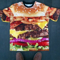 ultimate burger t-shirt