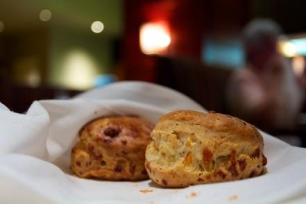 Warm Cheddar Biscuits