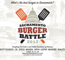 September 18, Sacramento Burger Battle on National Cheeseburger Day